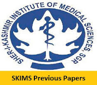 SKIMS Previous Papers