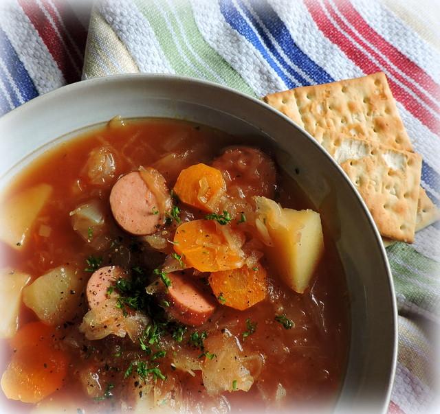 Crockpot Sauerkraut And Hot Dogs