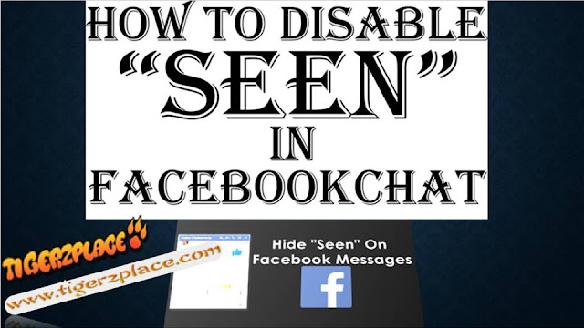Disable Seen Feature in Facebook Chat, disable seen option, Facebook, facebook messages seen disable method, facebook seen disable, facebook trick, invisible in fb, Tricks & Tutorials, how to disable,disable faebook seen feature