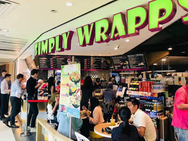 Simply Wrapps (Raffles City)