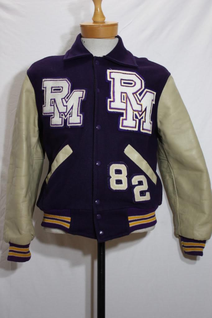 Letterman Jacket Vintage 76