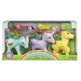 My Little Pony Windy 25th Anniversary Rainbow Ponies 3-Pack G1 Retro Pony
