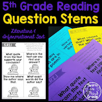 https://www.teacherspayteachers.com/Product/5th-Grade-Reading-Question-Stems-3761386