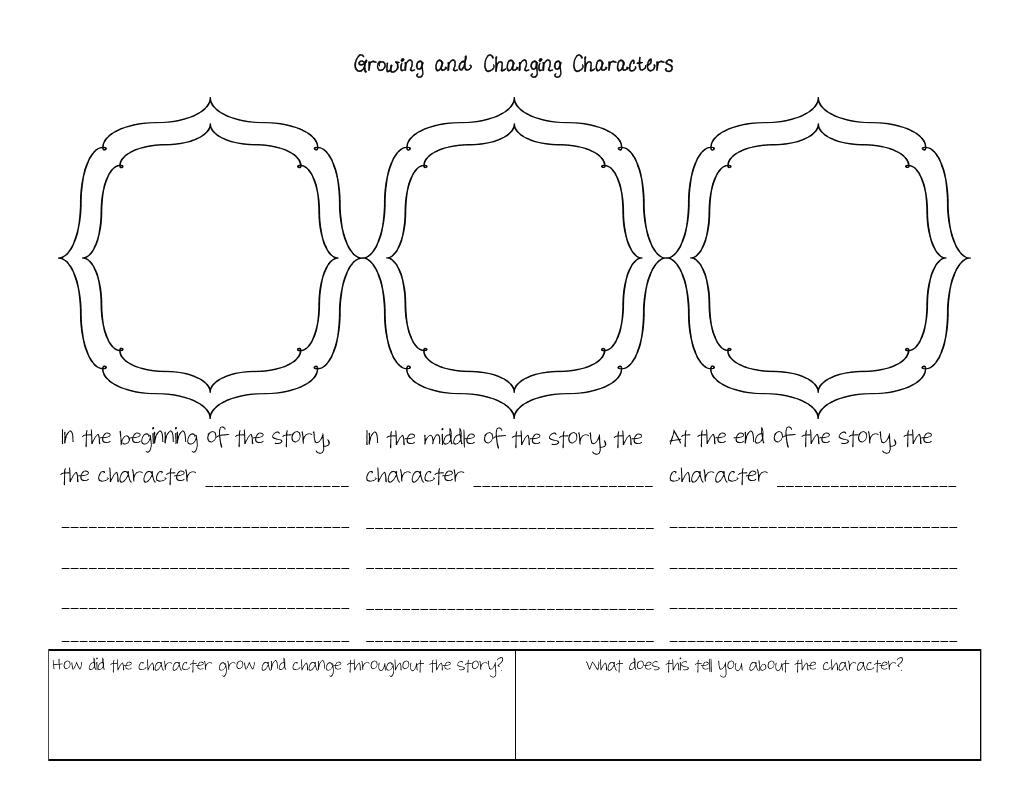 Graphic Organizer First Grade Beginning Middle End