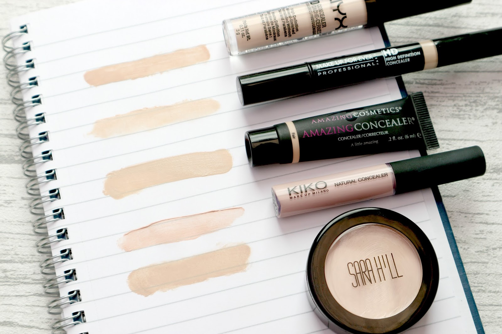 Top Concealers For Pale Skin