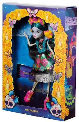 TOYS : JUGUETES - MONSTER HIGH  Skelita Calaveras : Adult Collector  Muñeca de colección   Producto Oficial 2016 | Mattel DPH48 | A partir de 6 años  Comprar en Amazon España & buy Amazon USA
