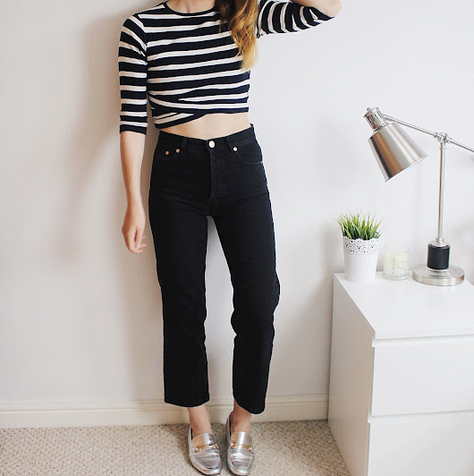 ASOS Authentic Straight Leg Jeans (think Levi's 501s)