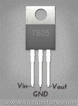 7805 Voltage Regulator Circuit Circuit Diagram Blog