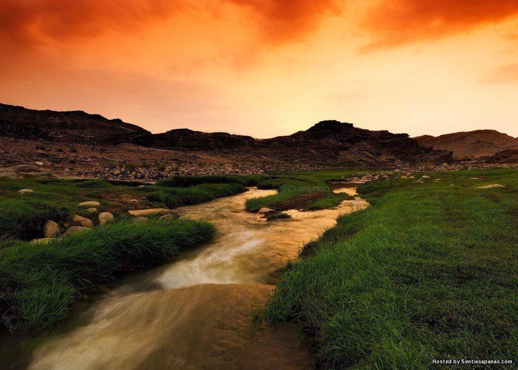 Wadi Al-Bardani Lembah Di Arab Saudi Yang Menakjubkan