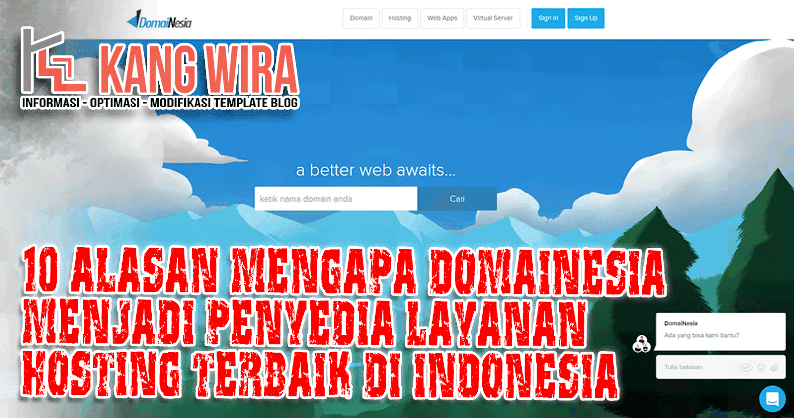 10 Alasan Mengapa DomaiNesia Menjadi Penyedia Layanan Hosting Terbaik di Indonesia