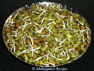 sprouted chana