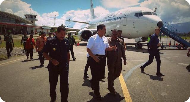 Luhut Pandjaitan ke Wamena, Temui Ratusan Tokoh Agama dan Masyarakat