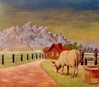 A vaca jogada no precipício (parábola)