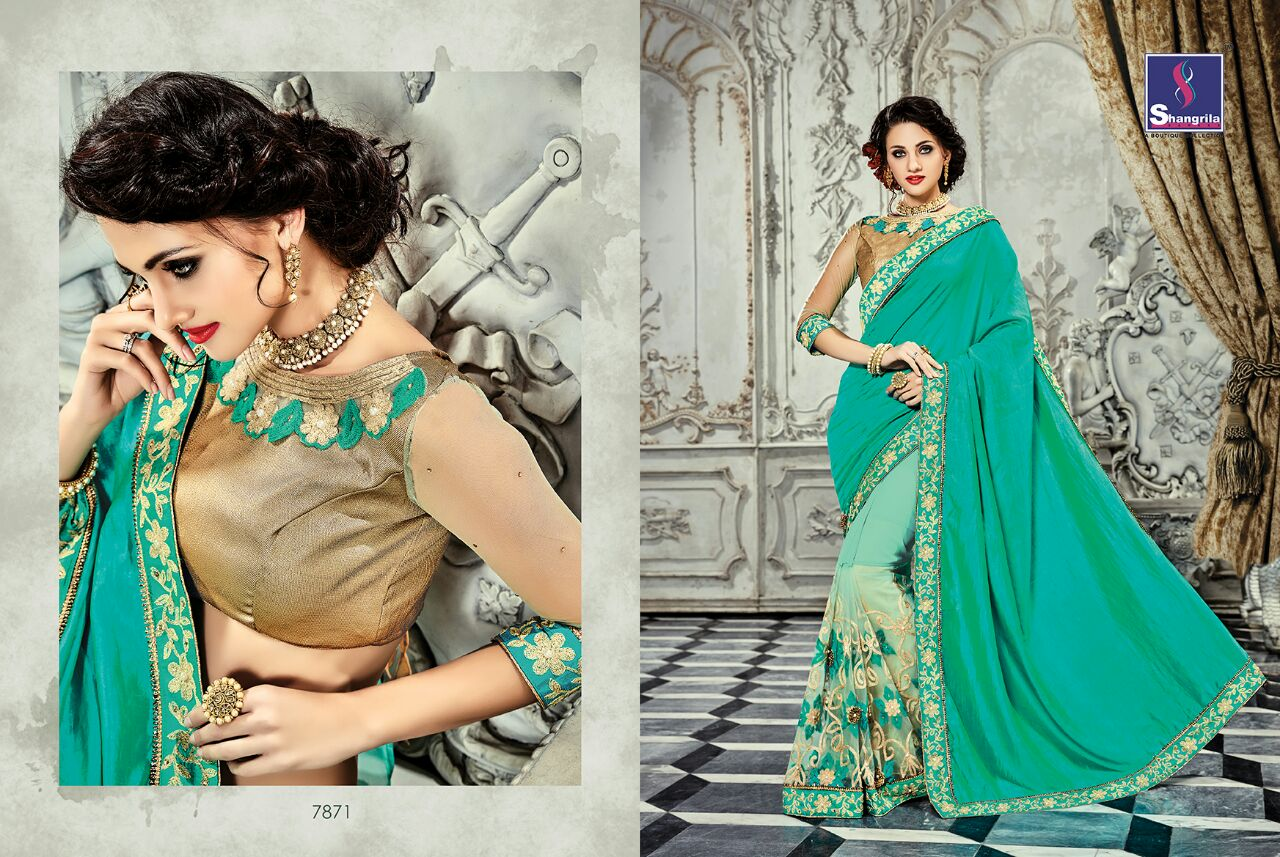 Paris Rose Vol 2 – Exclusive Designer Saree Buy Online