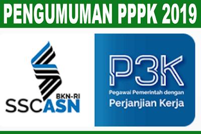 Cara Melihat Pengumuman PPPK 2019 ( P2K 2019 )