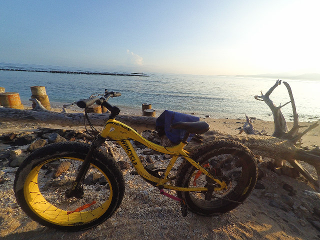 fat bike gili trawangan