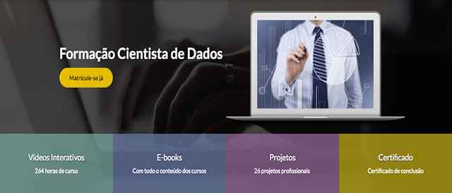 Formação Cientista de Dados - O Profissional mais cobiçado do século 21.