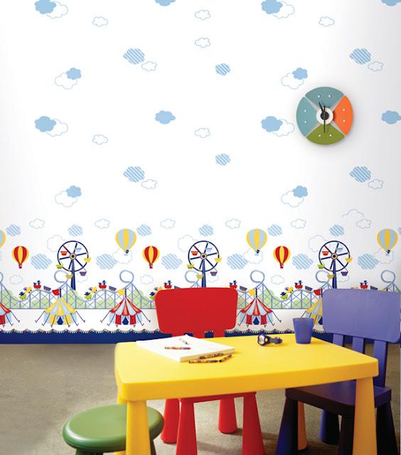Giấy dán tường Hàn Quốc cho bé mã A1015-1