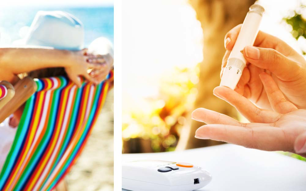 9 أشياء يجب أن ينتبه لها  مرضى السكر في الصيف