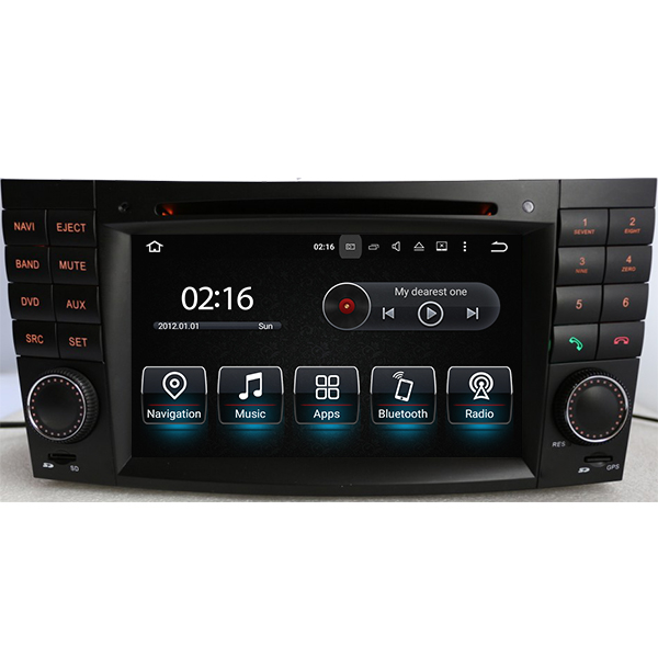 After market head unit with dvd player and navigation system