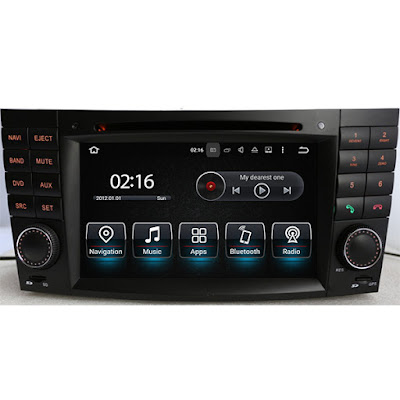 Mercedes-benz w211 Android GPS head unit