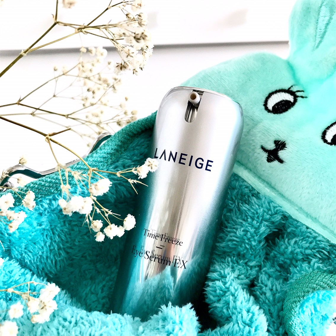 Laneige Time Freeze Eye Serum EX, Laneige esencja Time Freeze