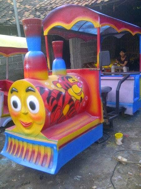 Kereta Mini Motor Thomas