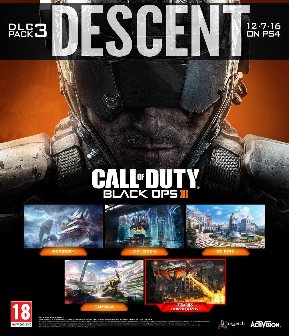 Call of Duty: Black Ops III Gets Descent DLC Pack On PS4 Today ... Call Of Duty Black Ops Map Packs on