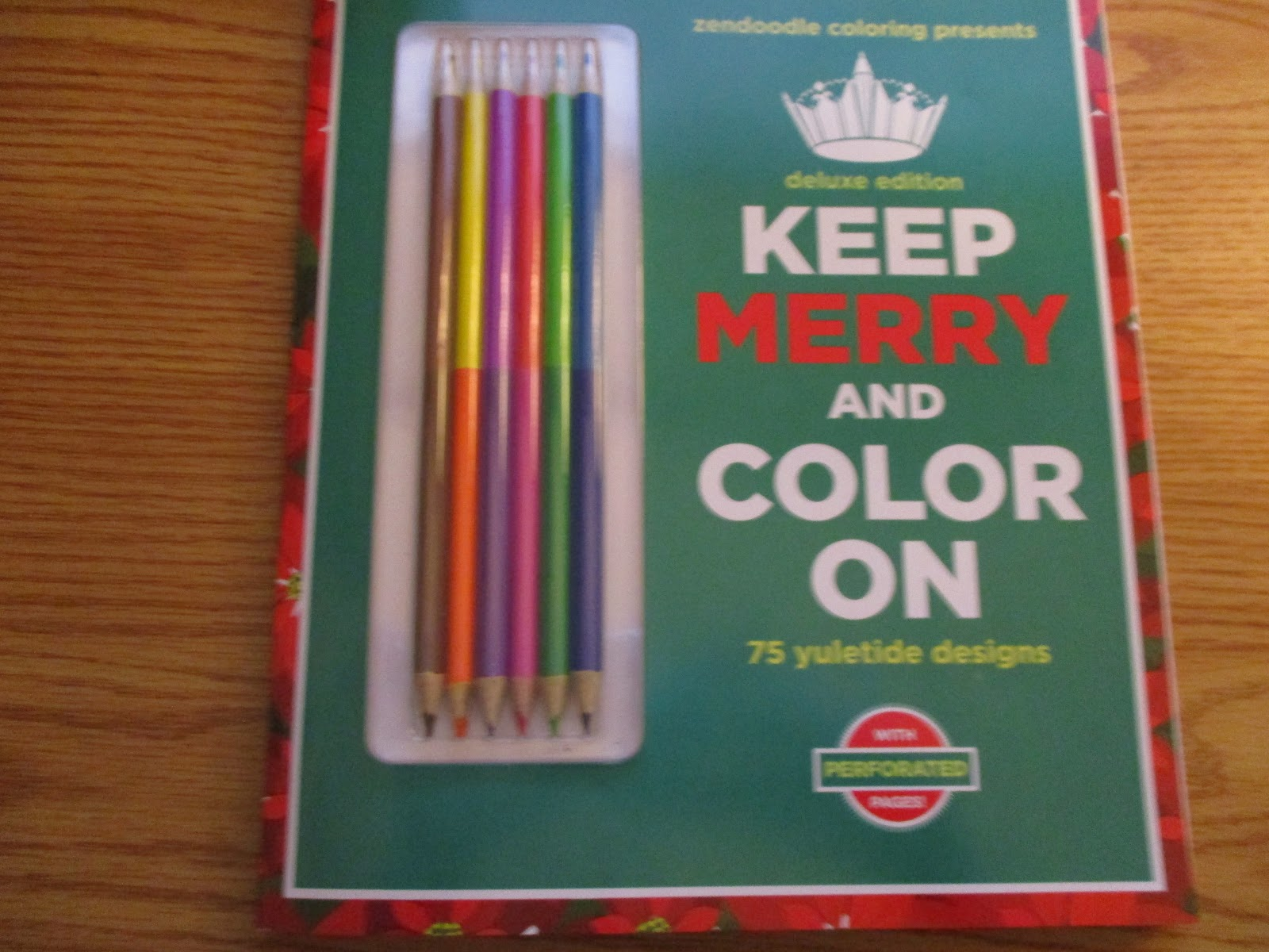 Missys Product Reviews Zendoodle Coloring Presents Keep Merry