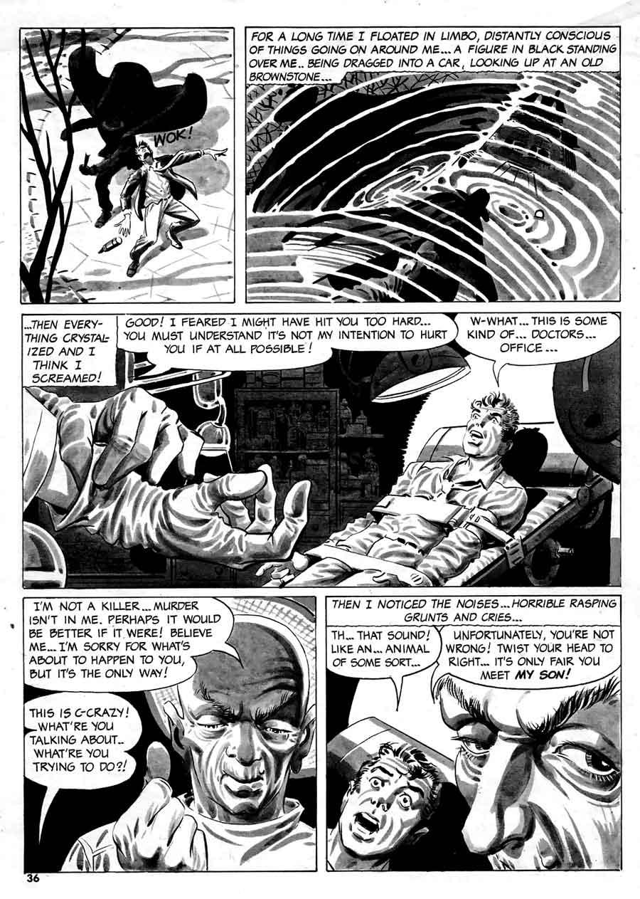 Steve Ditko silver age horror 1960s warren page - Creepy #12