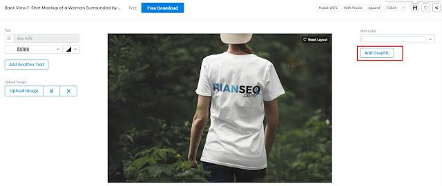 Cara Membuat T-Shirt Menggunakan Web Design Kaos Online