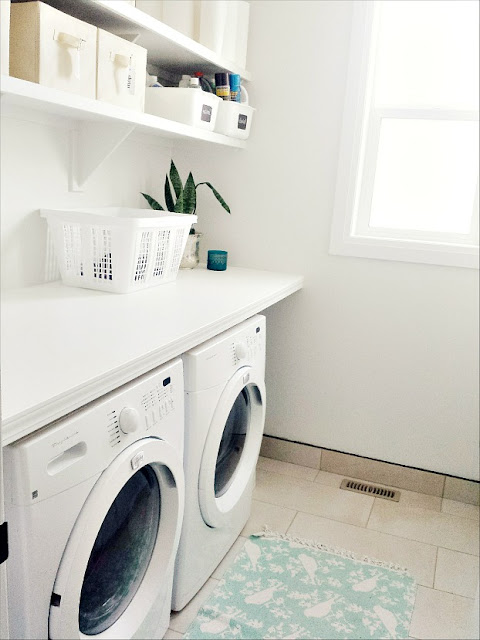 how to build a counter over washer and dryer