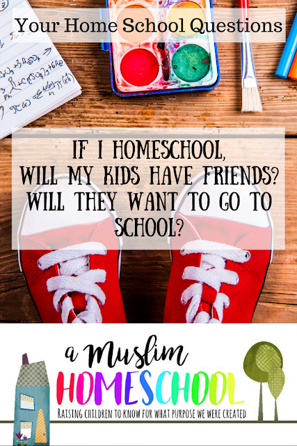 Home School FAQs. Reader questions asking about socialisation and if a child asks about school.