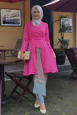 Model Baju Kebaya Batik Muslim Kartini Modern Terbaru