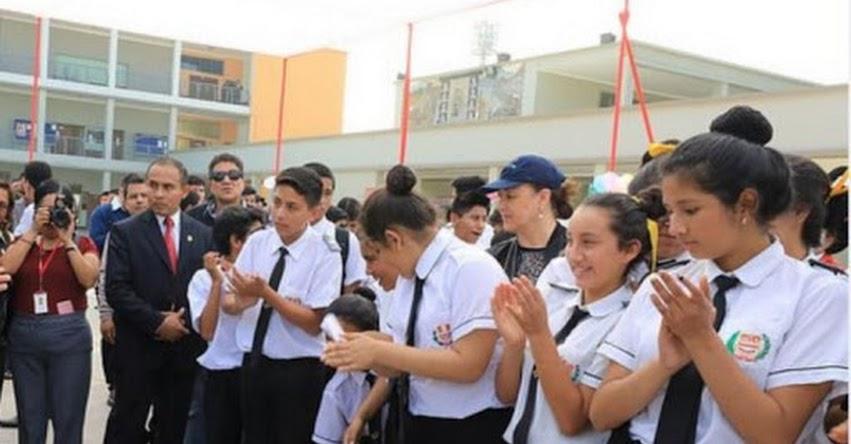 Escolares crean más de 1,200 composiciones contra violencia hacia la mujer en el concurso «Voces por la igualdad, libre de violencia»