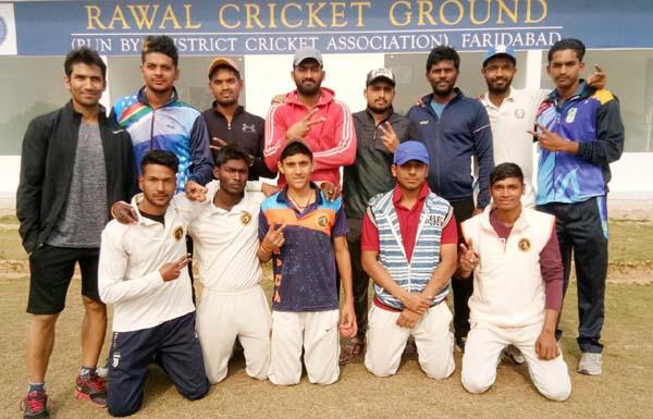रविंदर फागना स्पोर्ट्स प्रमोशन क्लब ने स्लेज हैमर क्रिकेट क्लब को 18 रन से हराया