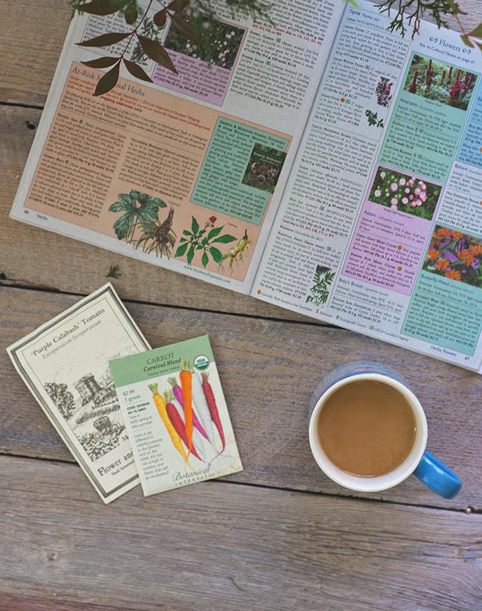 Garden Planning - Seed Catalog