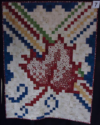 Quilt #7 of the Quilts of Valour Challenge