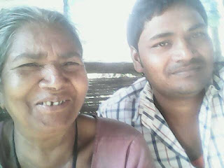 Mukesh Mandal Nirala With Mother