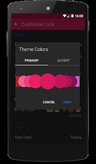 Textra SMS screenshot 0