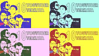 Tips sukses di video vlog ala 10 besar youtuber kaya Indonesia