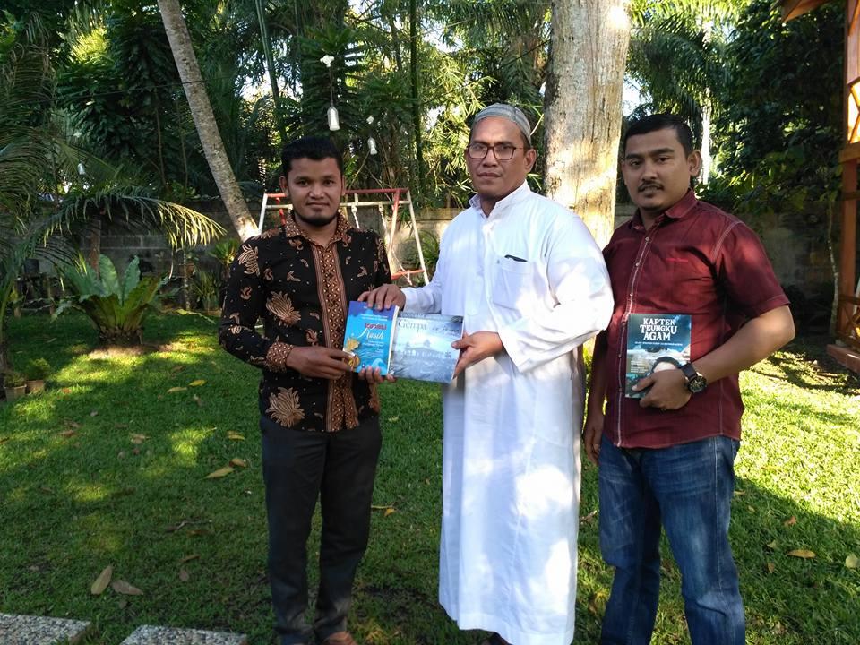 LPD Konsultasi tentang Dana CSR dengan Staf Ahli Bupati Aceh Barat ( Pendiri Forum CSR Aceh Barat )