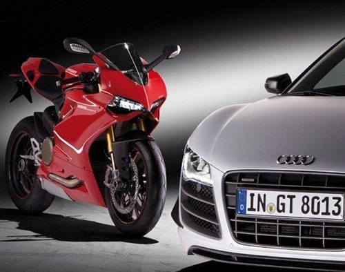 In 2016 Ducati And Audi Will Present A New Concept Car Full Cars