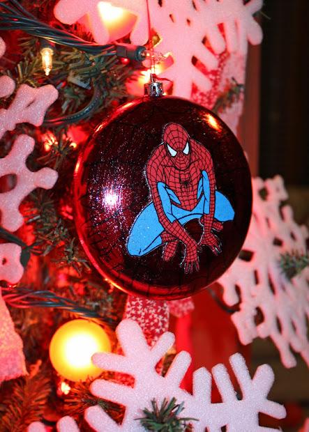 Spider-Man Christmas Ornament