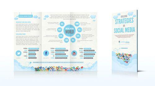 Contoh desain brosur untuk media sosial
