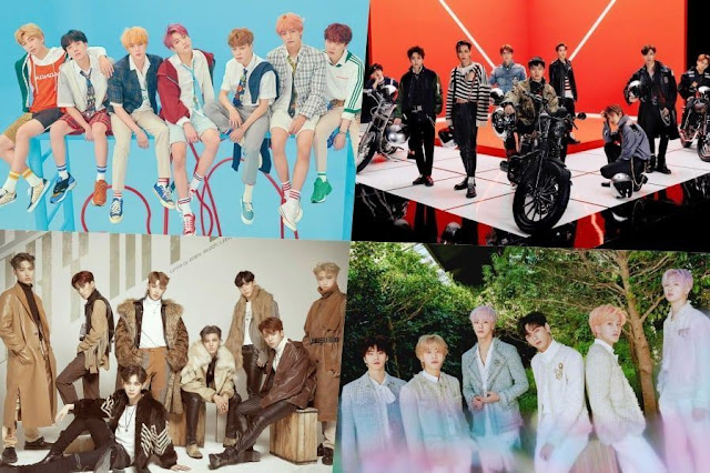 BTS, EXO, ATEEZ, dan ASTRO Menyabet Peringkat di Billboard's World Album Chart