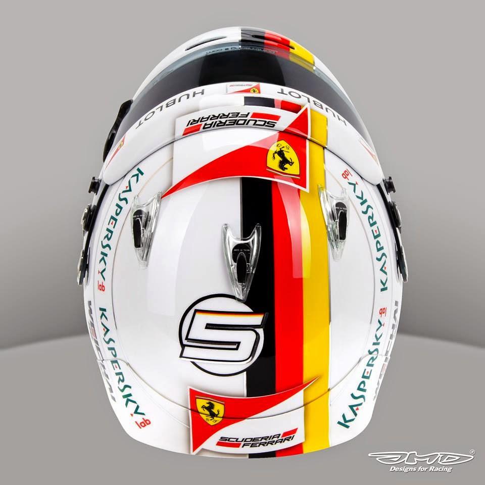 racing helmets garage arai gp 6 s vettel australia 2015 by jens munser designs. Black Bedroom Furniture Sets. Home Design Ideas