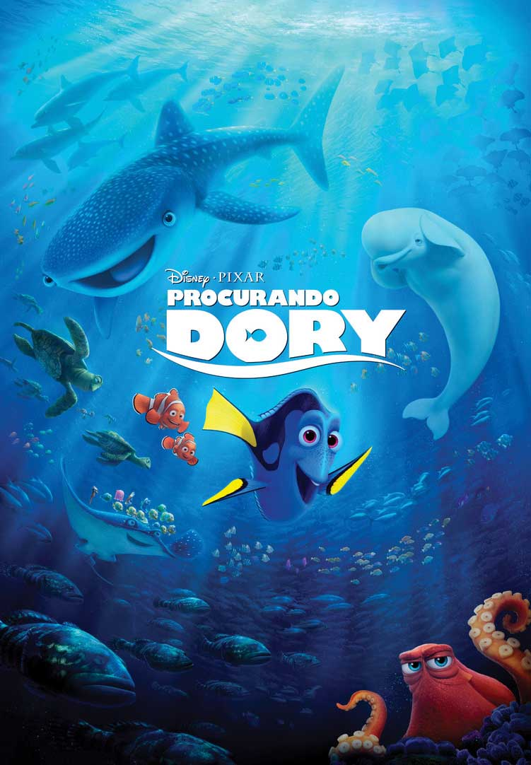 Procurando Dory – BluRay 720p e 1080p Dual Áudio (2016)