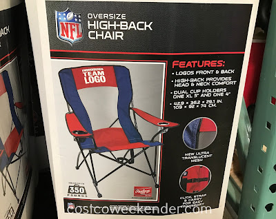 Costco 657329 - Support your team (like the 49ers) with the Jarden Oversize High-back Chair