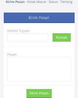 Kirim sms gratis di aplikasi Android